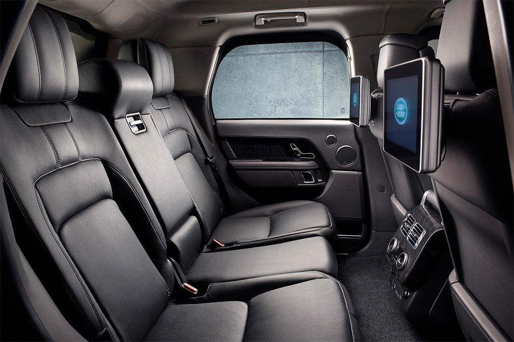Пуленепробиваемый внедорожник Range Rover сделали мощнее 2