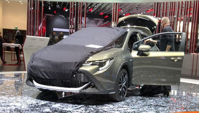 «Внедорожную» Toyota Corolla Trek привезли в Женеву 1