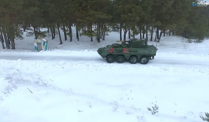 Украинский БТР-4 с новым корпусом прошел испытания 1