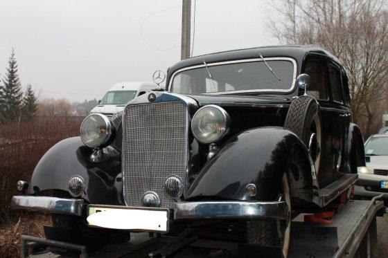 В Украине «засветился» необычайно редкий и престижный автомобиль 1