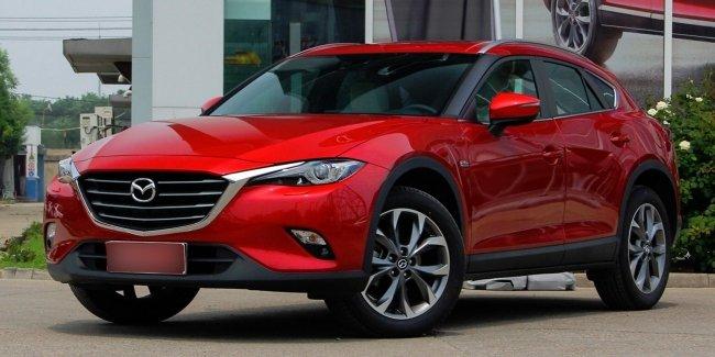 Китайские дилеры Mazda получат обновленный Mazda CX-4 1