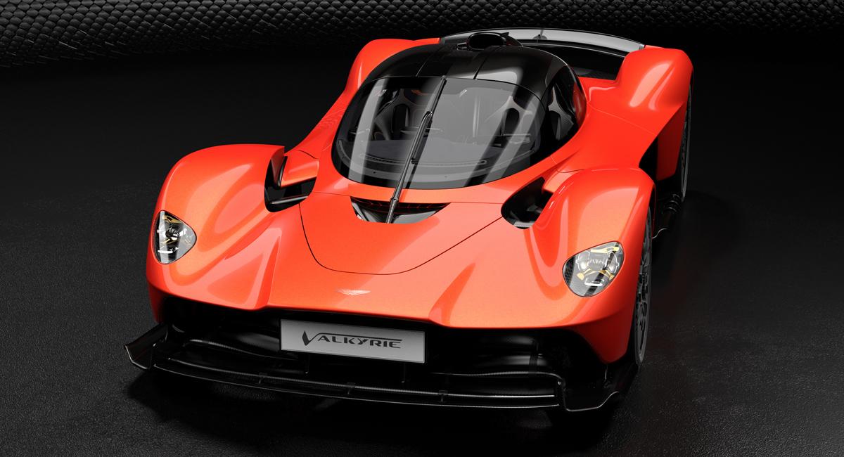 Гиперкар Aston Martin Valkyrie будет иметь 1176 «лошадей» 3