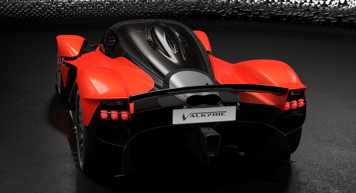 Гиперкар Aston Martin Valkyrie будет иметь 1176 «лошадей» 2