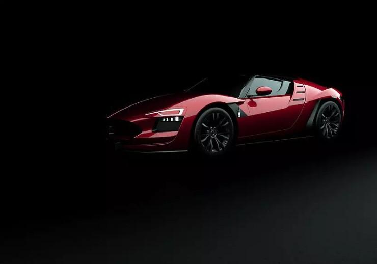 Итальянцы покажут в Женеве карбоновый водородный спорткар 2