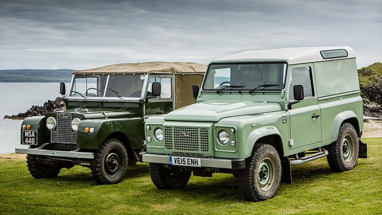 В секретном рендере показали Land Rover Defender 1