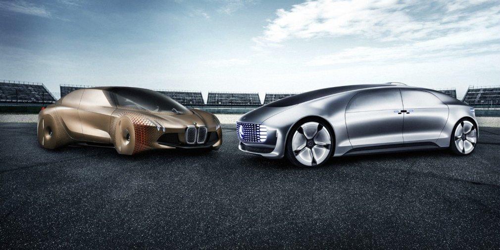 Mercedes и BMW договорились о совместной разработке беспилотников 1
