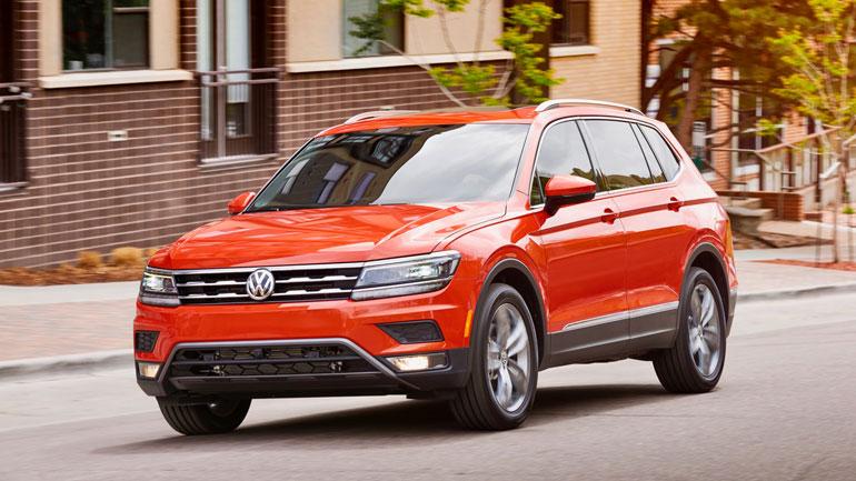 Volkswagen Tiguan в январе стал самым продаваемым кроссовером в Европе 1