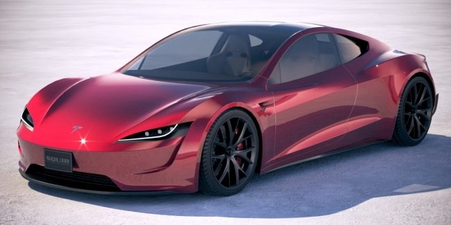 Следующее поколение Tesla Roadster будет безумно быстрым 1
