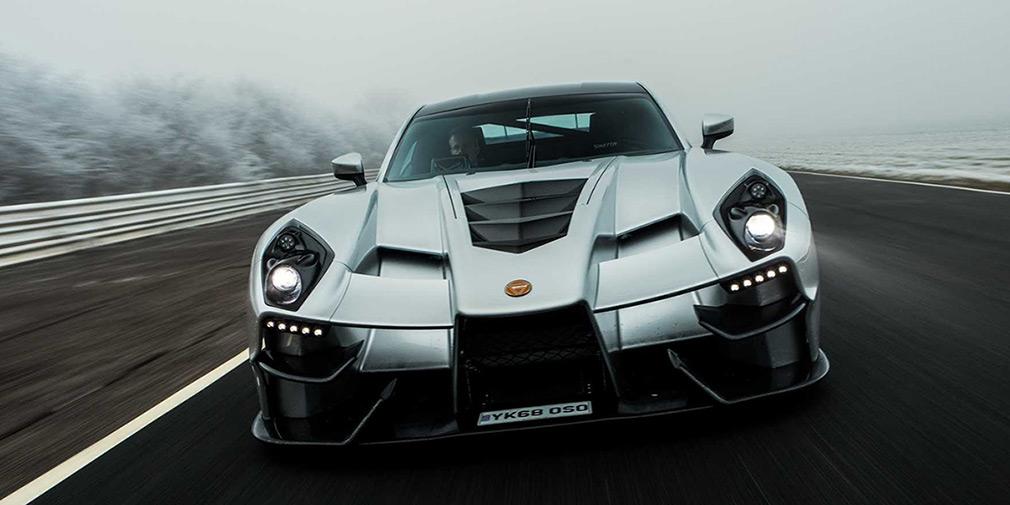 Британская Ginetta выпустила карбоновый 600-сильный суперкар 1