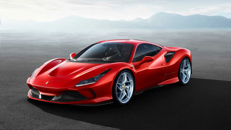 Ferrari представила новый суперкар F8 Tributo 1