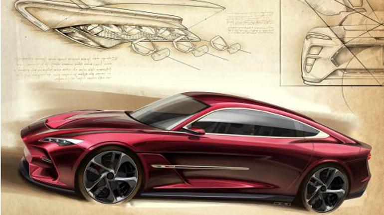 Italdesign показала рендер нового купе накануне премьеры в Женеве 1