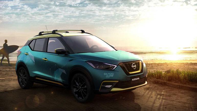 Новый Nissan Kicks Surf получил душ 1