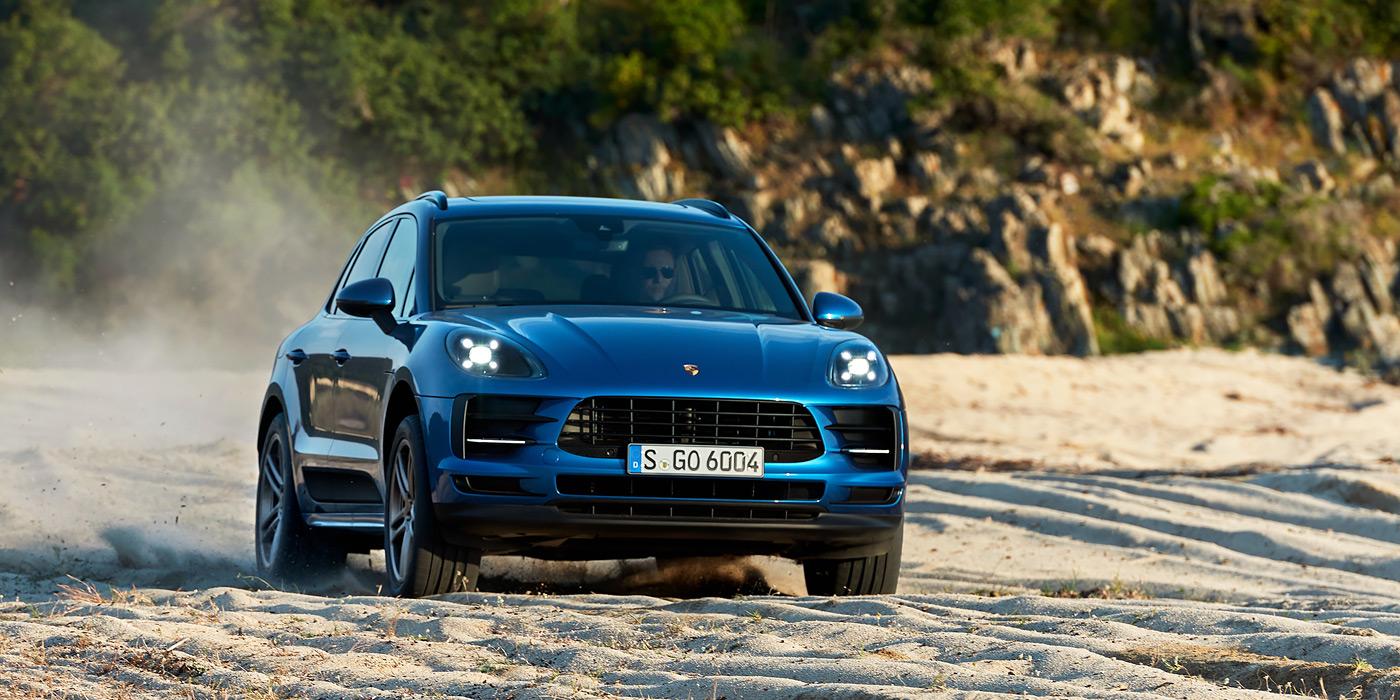 Новый Porsche Macan превратят в электрокар 1
