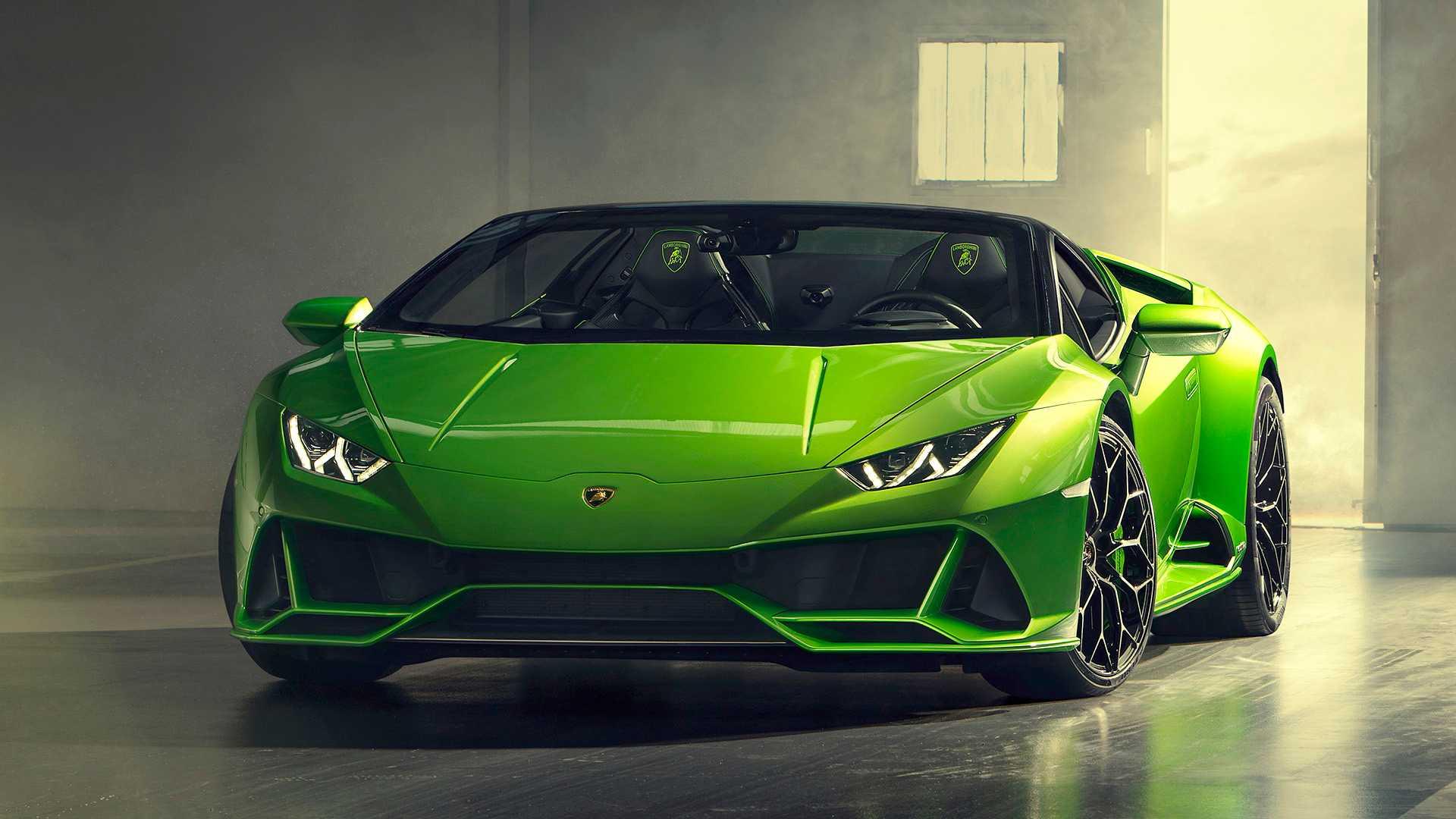 Lamborghini Huracan Evo Spyder покажется в Женеве 1