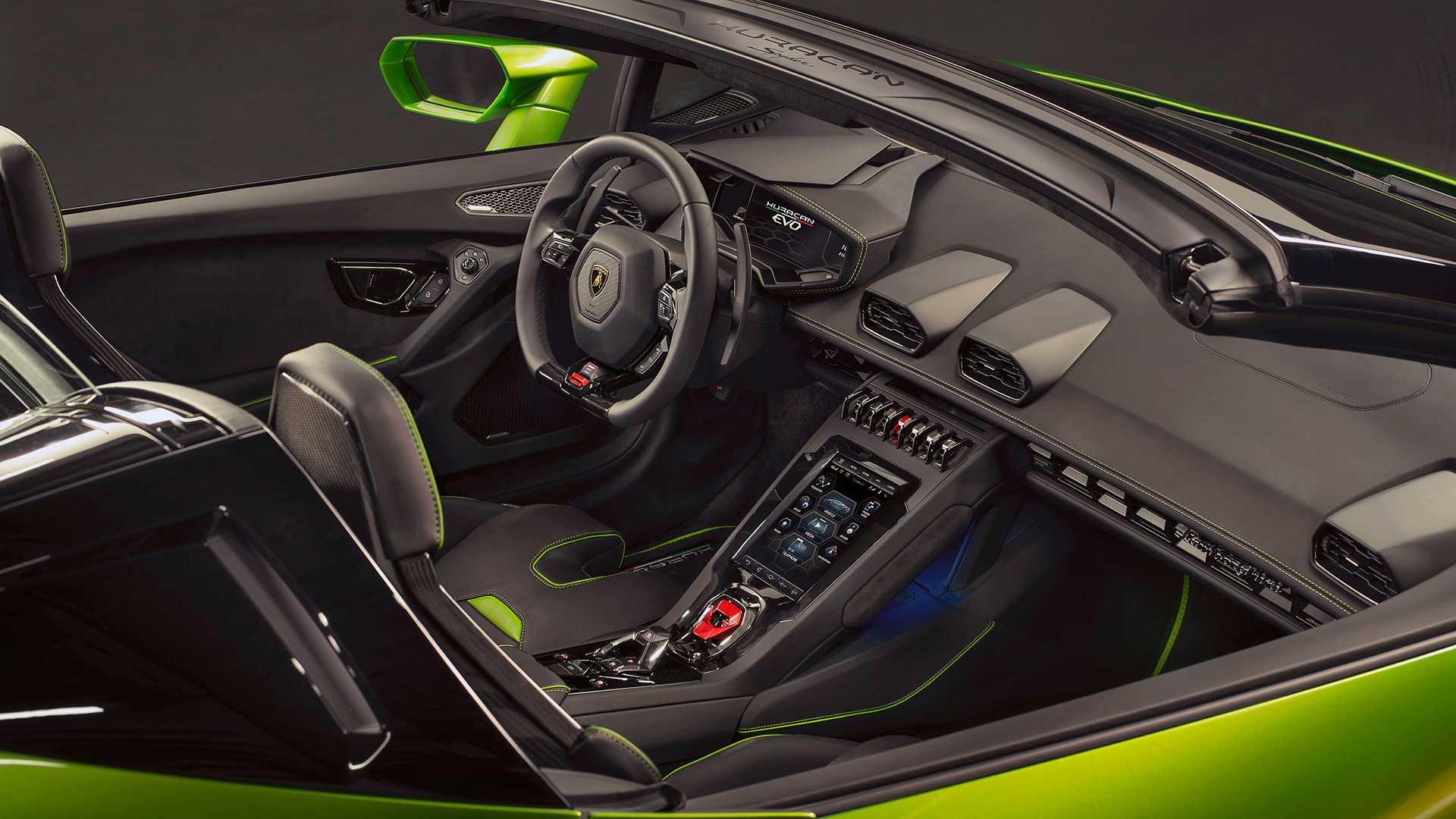 Lamborghini Huracan Evo Spyder покажется в Женеве 3