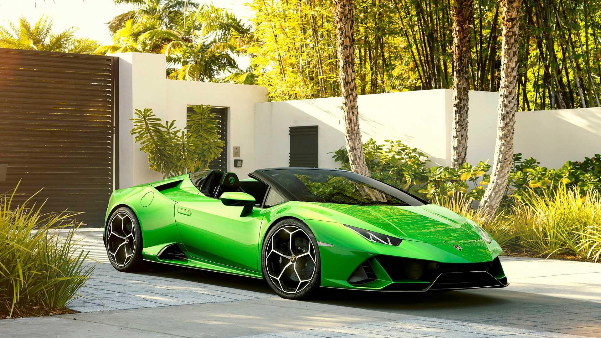 Lamborghini Huracan Evo Spyder покажется в Женеве 4