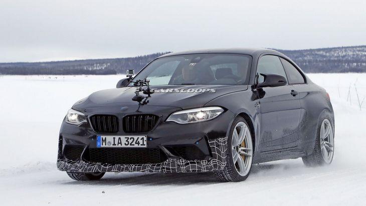 Новая BMW M2 CS будет мощнее чем спортивные M3 и M4 1