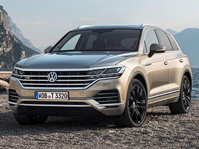 Volkswagen показал «самый мощный» дизельный Touareg 1