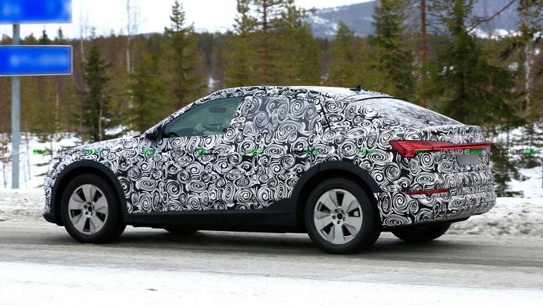 Audi e-tron Sportback проходит зимние тесты 2