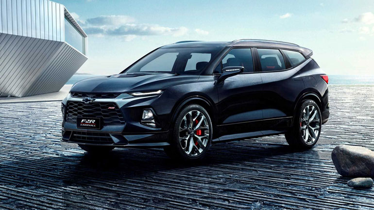 Продажи трехрядного Chevrolet Blazer XL намечены на 2020 год 1