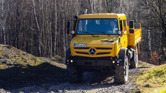 Немцы на бездорожье: на что способен новый вездеход от Mercedes-Benz 1