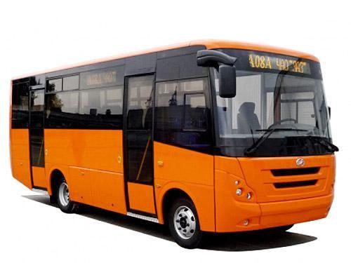 ЗАЗ представил новый автобус I-VAN А08 1