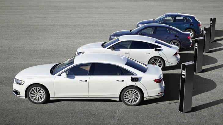 Audi представит в Женеве четыре подзаряжаемых гибрида 1