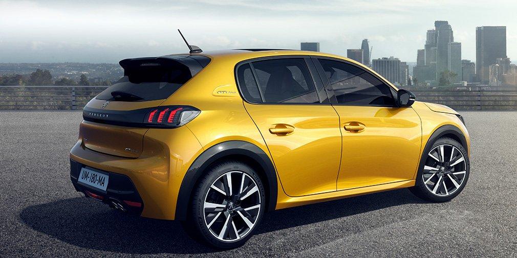 Peugeot представил хэтчбек 208 нового поколения 2