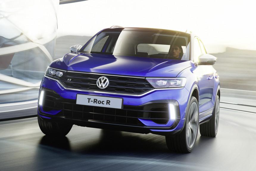 Представлен 300-сильный паркетник Volkswagen T-Roc R 1