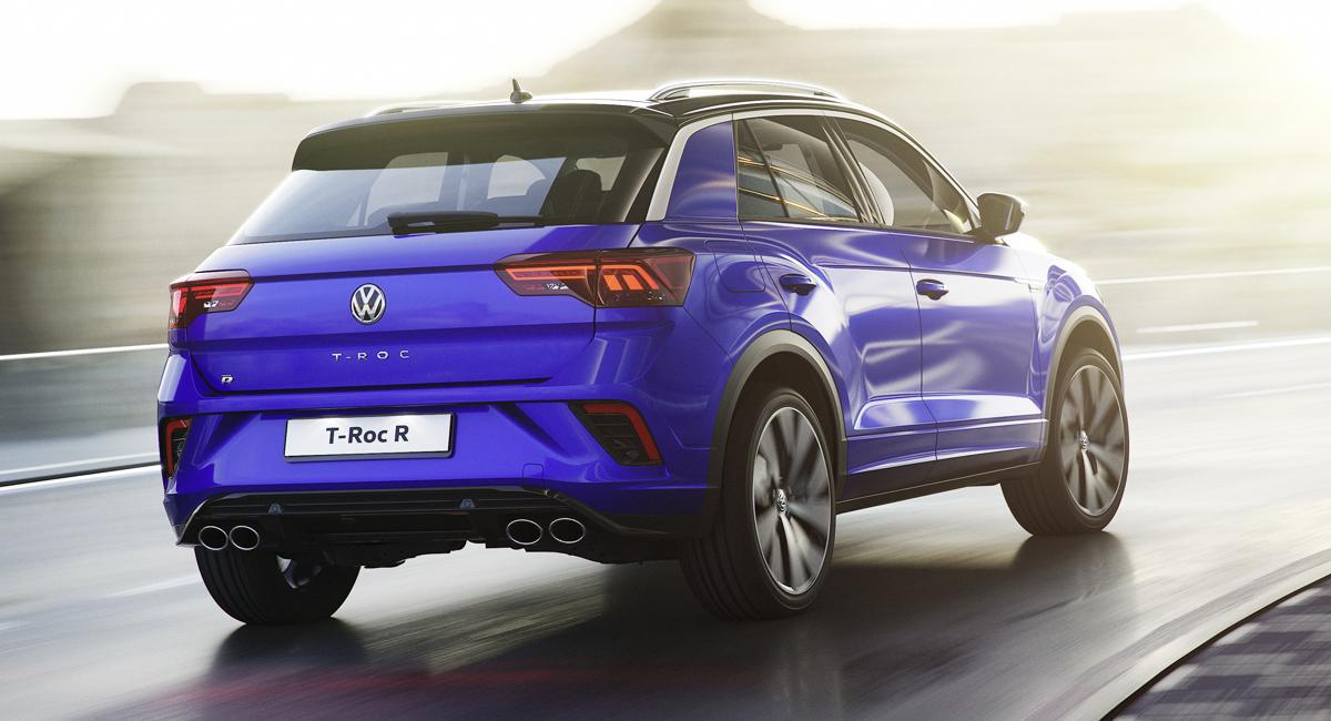 Представлен 300-сильный паркетник Volkswagen T-Roc R 2