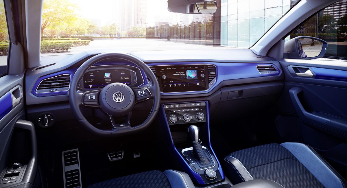 Представлен 300-сильный паркетник Volkswagen T-Roc R 3