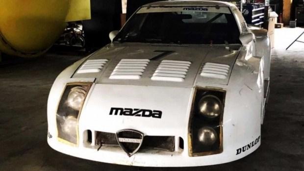 В Японии обнаружен уникальный 35-летний спорткар Mazda 1