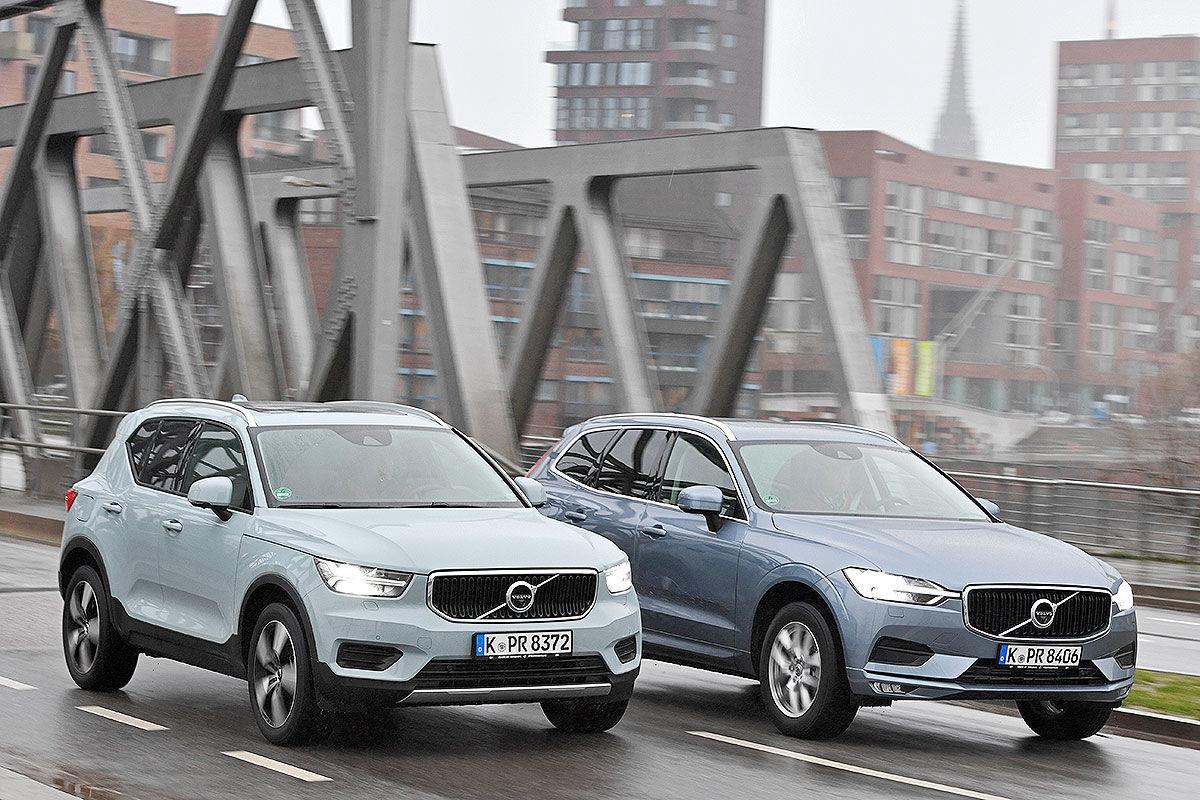 «Больше – лучше?»: сравнительный тест Volvo XC60 и XC40 1