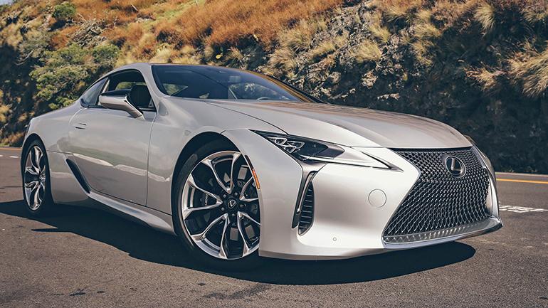 Купе Lexus LC обзаведется пакетом доработок 1