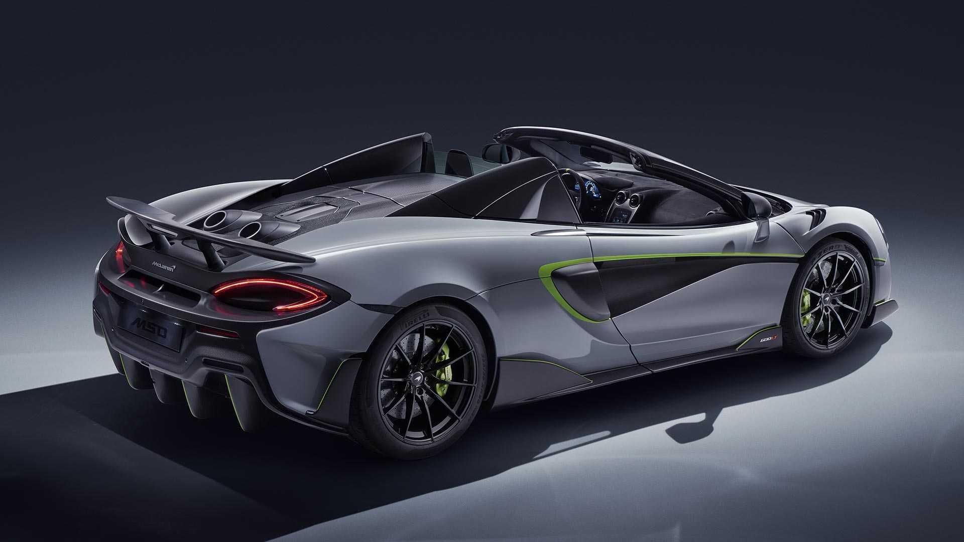 McLaren 600LT Spider перед шоу в Женеве получил версию MSO 1
