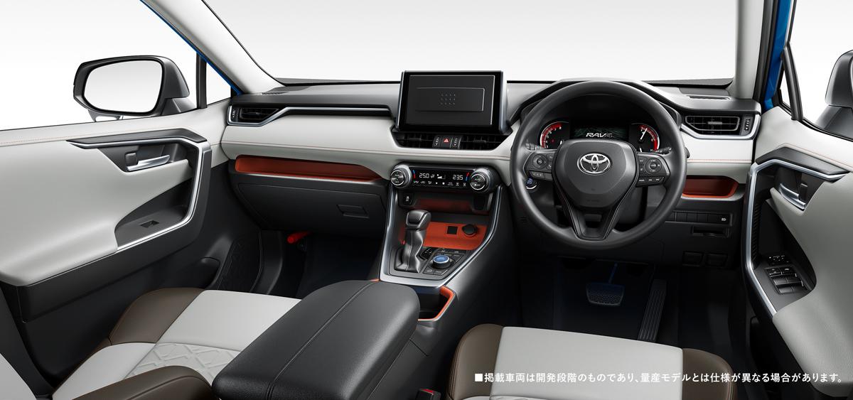 Toyota RAV4 возвращается в Японию 2