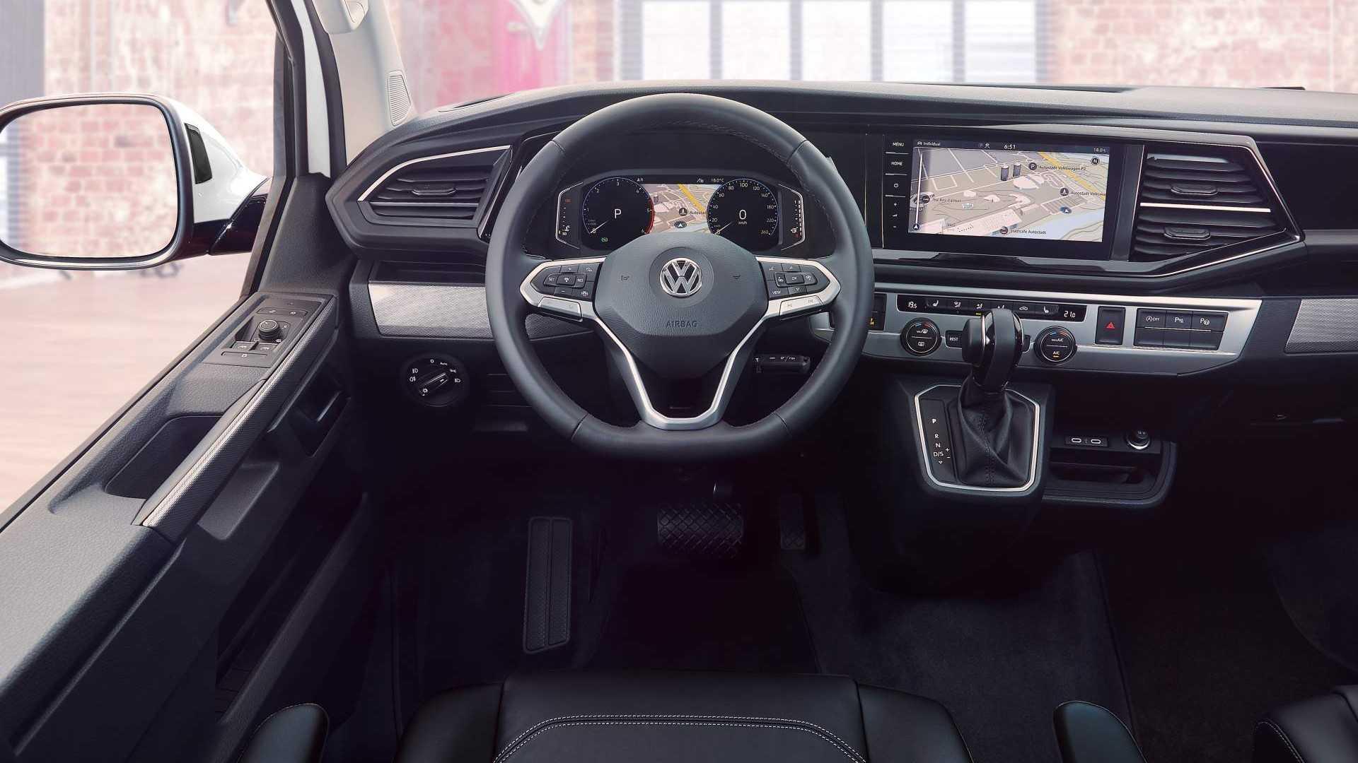 Volkswagen обновил Multivan до версии T6.1 3