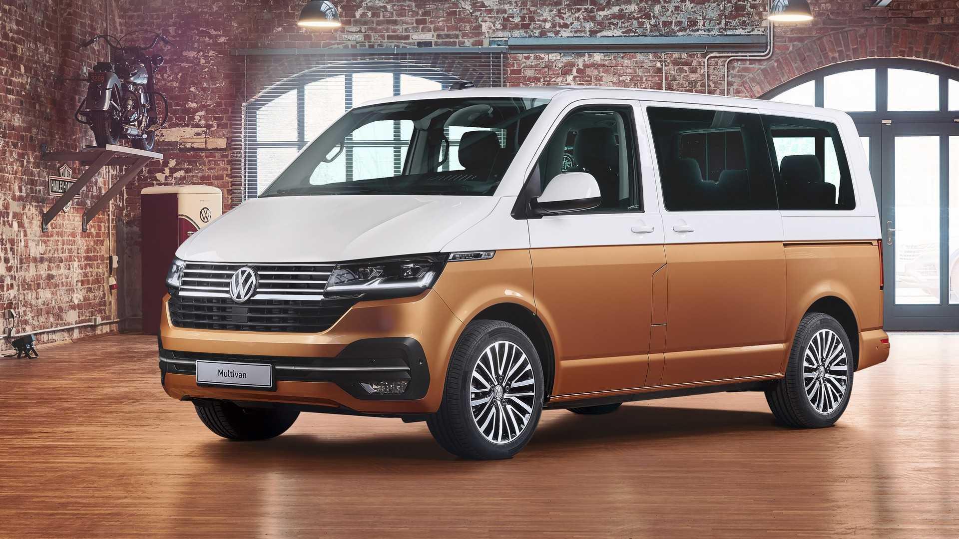 Volkswagen обновил Multivan до версии T6.1 2