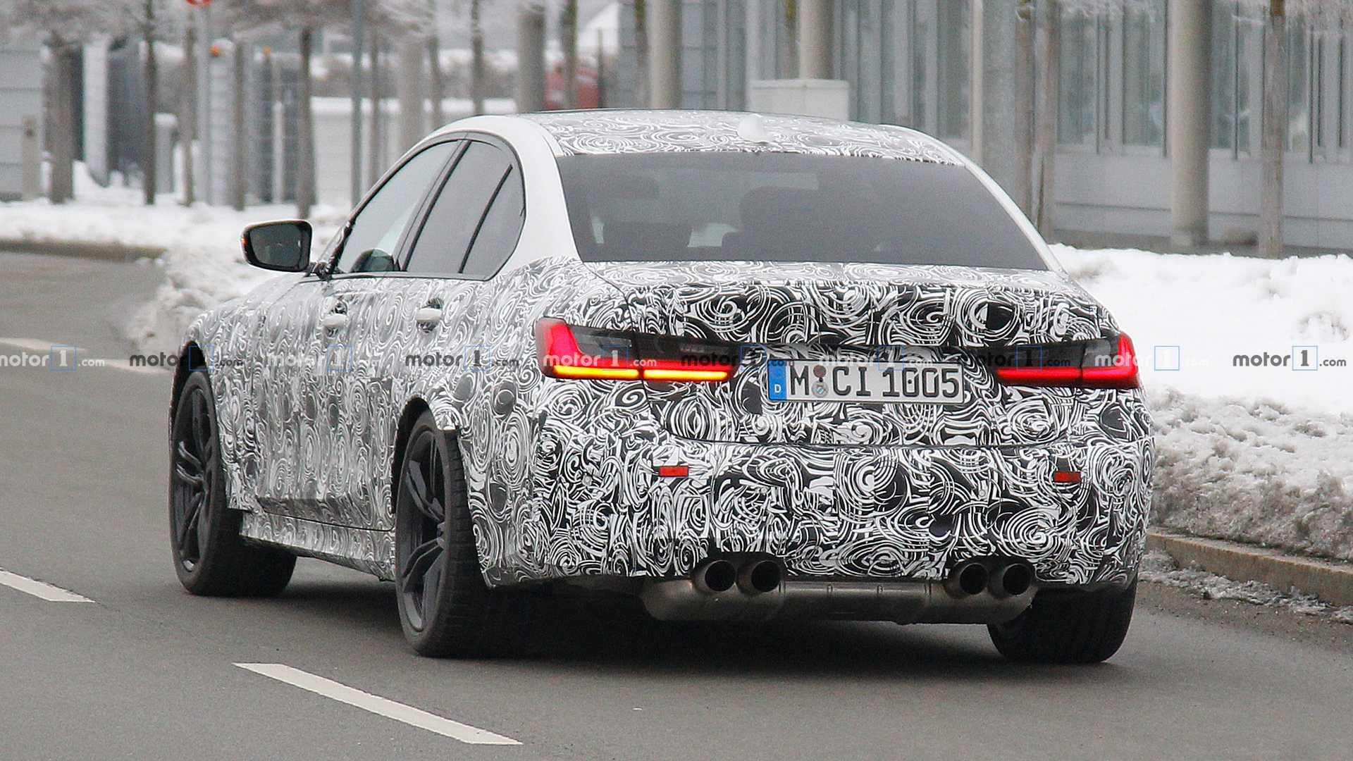 BMW должна показать новую M3 в сентябре 2019 года 3