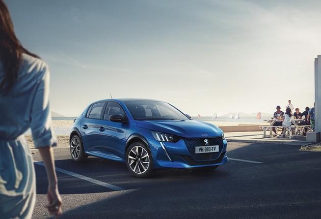 Peugeot 208 теперь электрокар: первые фото до премьеры 2