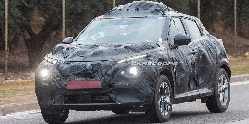 Nissan приступил к тестам нового Juke 1