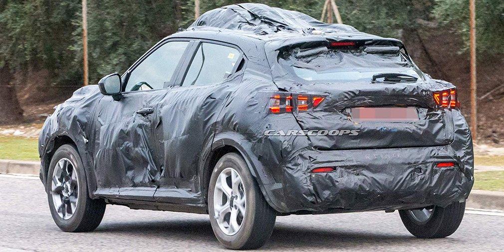 Nissan приступил к тестам нового Juke 2