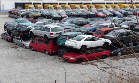 В Германии свалки переполнены старыми дизельными автомобилями 1