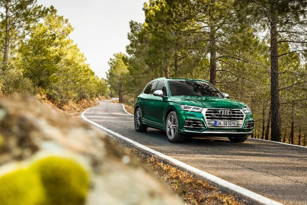 Audi представил SQ5 с дизельным движком 1