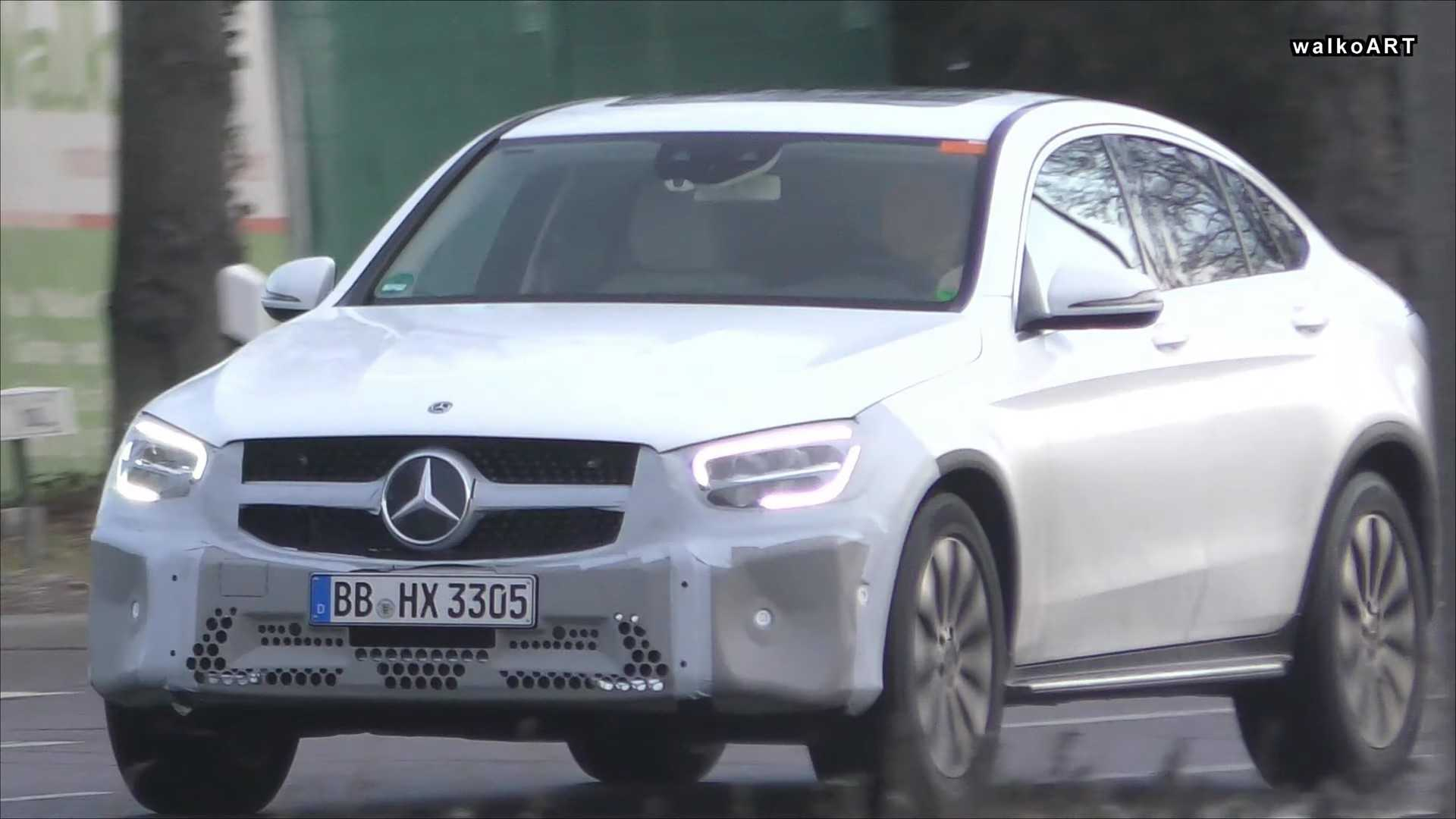 Mercedes-Benz покажет CLA Shooting Brake и обновлённый GLC-Class в Женеве 1
