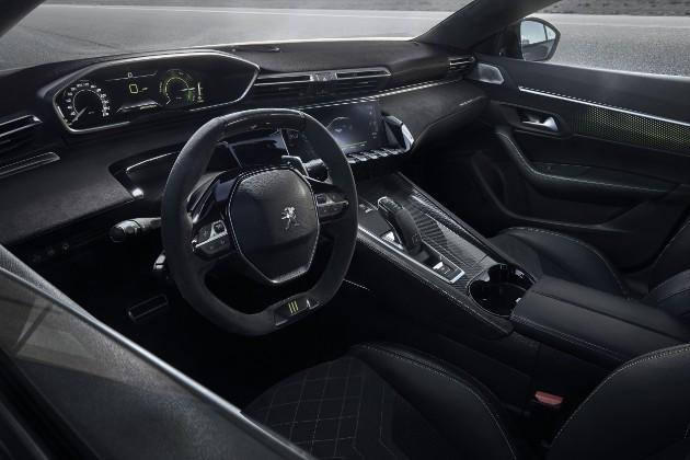 Peugeot выкатил концепт спортивного 508 3
