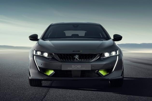 Peugeot выкатил концепт спортивного 508 1