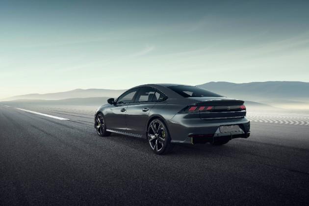 Peugeot выкатил концепт спортивного 508 2