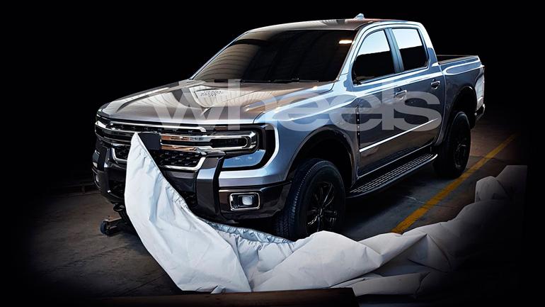 В Сети показали фотографии нового пикапа Ford 1