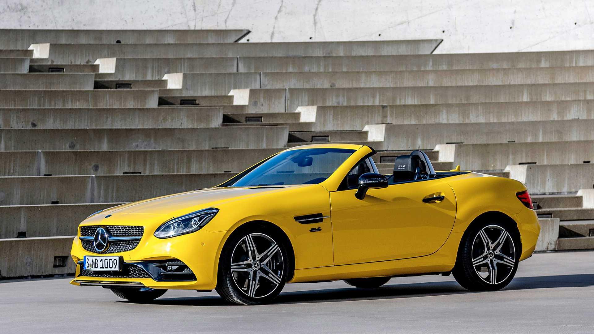 Mercedes-Benz прощается с SLC яркой версией Final Edition 2
